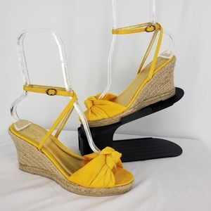 J. Crew Amelia Espadrilles Platforms Wedges Shoes
